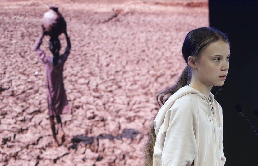 Davos : Les revendications pour le climat ont été « complètement ignorées », déplore Greta Thunberg