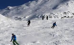 La station de La Clusaz (Haute-Savoie), )à nouveau endeuillée après le décès d'un skieur de 72 ans, le 28 février. (illustration)