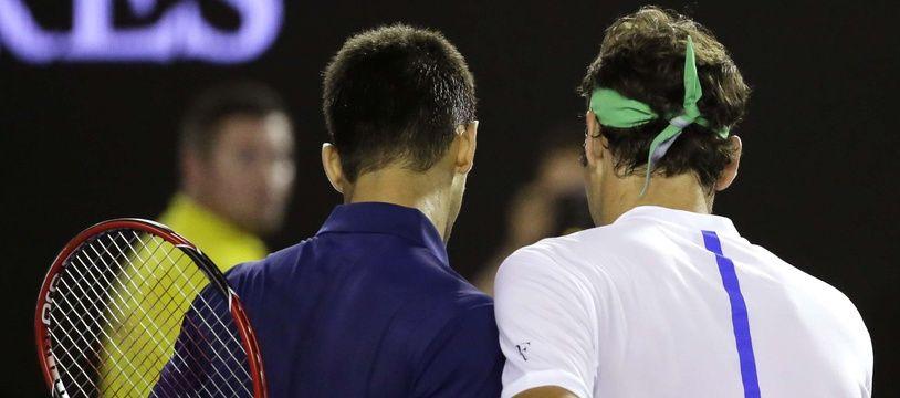 Djoko et Federer en 2017