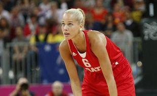 La basketteuse croate Antonija Misura, en août 2012 à Londres
