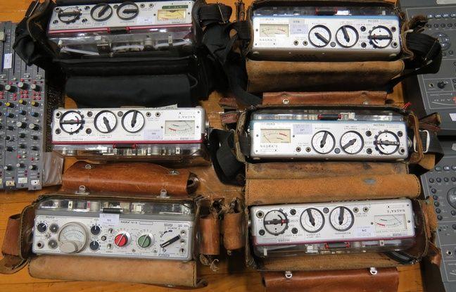 Enregistreurs Nagra de reportage à bande mis en vente aux enchères à Radio France
