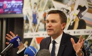 Le patron de l'UCI David Lappartient devrait bientôt présider le conseil départemental de Bretagne.