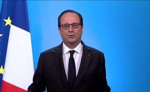 François Hollande à l'Elysée, jeudi 1er décembre.