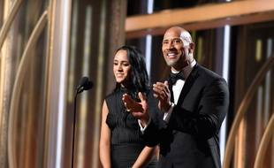 L'acteur Dwayne Johnson et sa fille Simone
