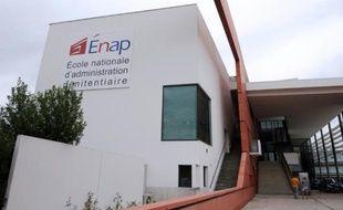 L'Ecole nationale de l'administration pénitentiaire à Agen, le 12 septembre 2013