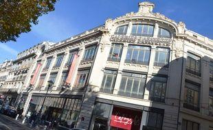 Les Galeries Lafayette à Béziers.