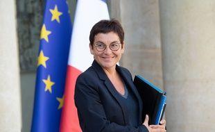 La ministre des Outre-mer Annick Girardin le 18 septembre 2019 à l'Elysée.