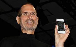 Steve Jobs à San Francisco, le 7 juin 2010