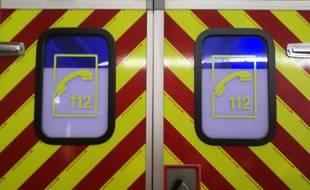 Un véhicule des pompiers. Illustration.