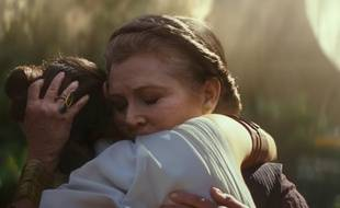 Carrie Fisher dans «Star Wars: L'Ascension de Skywalker» de J.J. Abrams