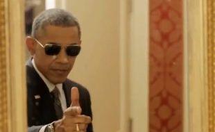 Barack Obama dans une vidéo de Buzzfeed dévoilée le 12 février 2015.