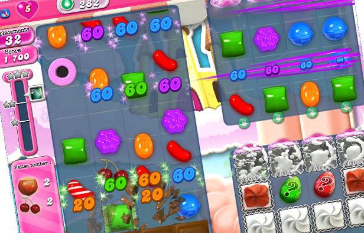 Le jeu Candy crush saga, jeu à succès. – 20 Minutes