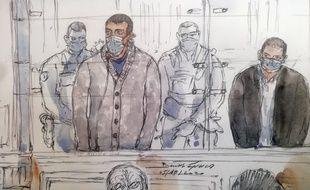 Sid-Ahmed Ghlam comparaissait devant la cour d'assises spéciale de Paris