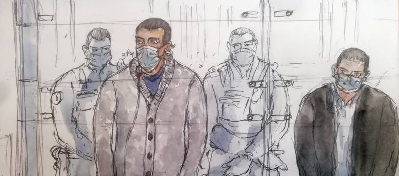 Sid-Ahmed Ghlam comparaît depuis lundi devant la cour d'assises spéciale de Paris.
