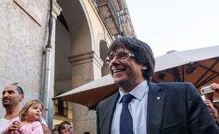 L'ex-président catalan destitué Carles Puigdemont est réfugié à Bruxelles avec cinq membres de son ancien gouvernement.
