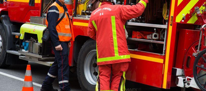 Photo d'illustration de sapeurs-pompiers.
