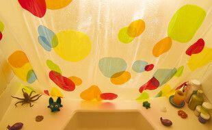 Une salle de bains (illustration)