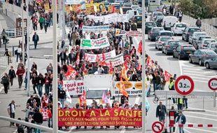 Les syndicats dénoncent les restrictions budgétaires dans le domaine de la santé.