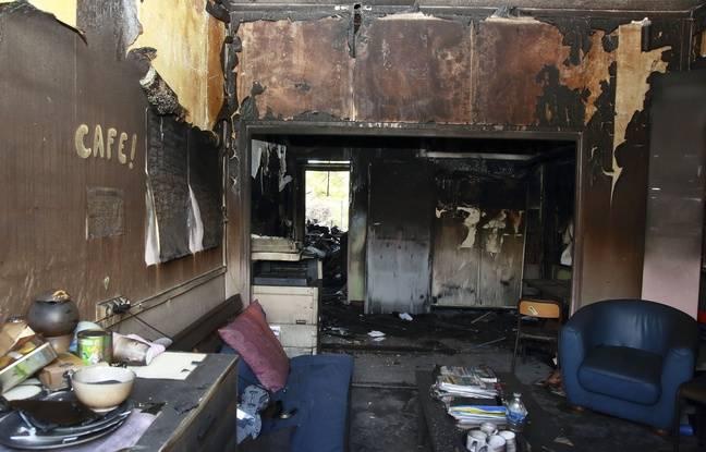 L'école des Tamaris, incendie à Béziers