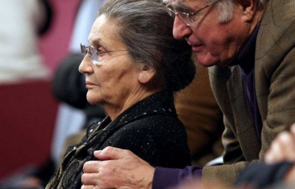 Antoine Veil, ancien haut fonctionnaire et dirigeant d'entreprises, mari de Simone Veil, est décédé dans la nuit de jeudi à vendredi à Paris à l'âge de 86 ans, a-t-on appris auprès de la famille. – Jacques Demarthon AFP