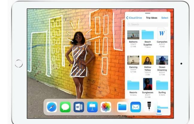 L'écran Retina Display de l'iPad 2018 offre une expérience satisfaisante tant en productivité, qu'en divertissement.