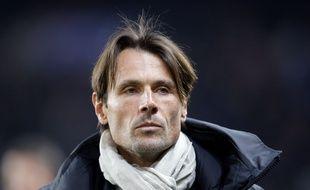 Dominique Arribagé, l'entraîneur de Toulouse, lors du match de Coupe de France à Paris face au PSG, le 19 janvier 2016.
