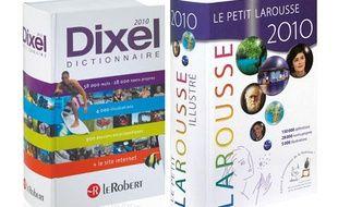 Les éditions 2010 du Robert et du Larousse.