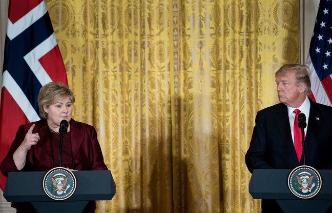 VIDEO. Climat: Les Etats-Unis «pourraient en théorie» revenir dans l'accord de Paris, selon Trump