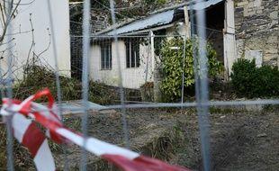 L'ex-maison Seznec, à Morlaix, où des fouilles ont été menées en février et mars 2018.