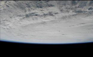 L'ouragan Matthew vu depuis la Station spatiale internationale