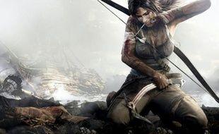 Lara Croft, dans le reboot de «Tomb Raider» (art work).