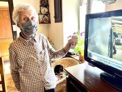 Denise Touron, 85 ans, est utilisatrice de la Sunday Box
