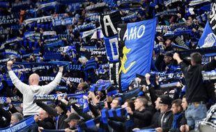Des supporters de l'Atalanta