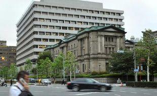 Le siège de la Banque du Japon, le 1er octobre 2013 à Tokyo