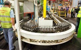 Les syndicats sont inquiets pour l'avenir de l'usine Ford Aquitaine Industrie (FAI)de Blanquefort et interpellent la direction de Ford Europe - Photo : Sebastien Ortola