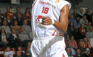 Hervé Touré, cette saison à Nancy.