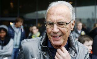Franz Beckenbauer, le 17 février 2016 à Stuttgart.