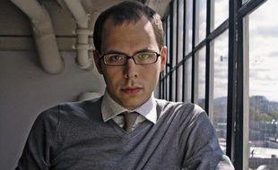 """Le roboticien et écrivain Daniel H. Wilson, auteur de """"Robopocalypse""""."""