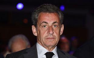 Nicolas Sarkozy, le 20 avril 2018.