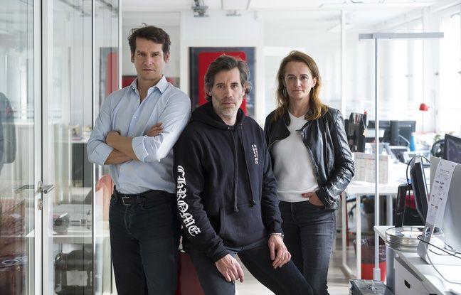 Le réalisateur Jalil Lespert et les producteurs Philippe Levasseur et Sophie Paliès.