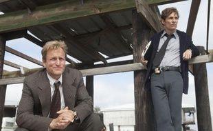 Woody Harrelson et Matthew McConaughey dans la série HBO «True Detective», diffusée en France sur OCS City le lundi à 20h55.