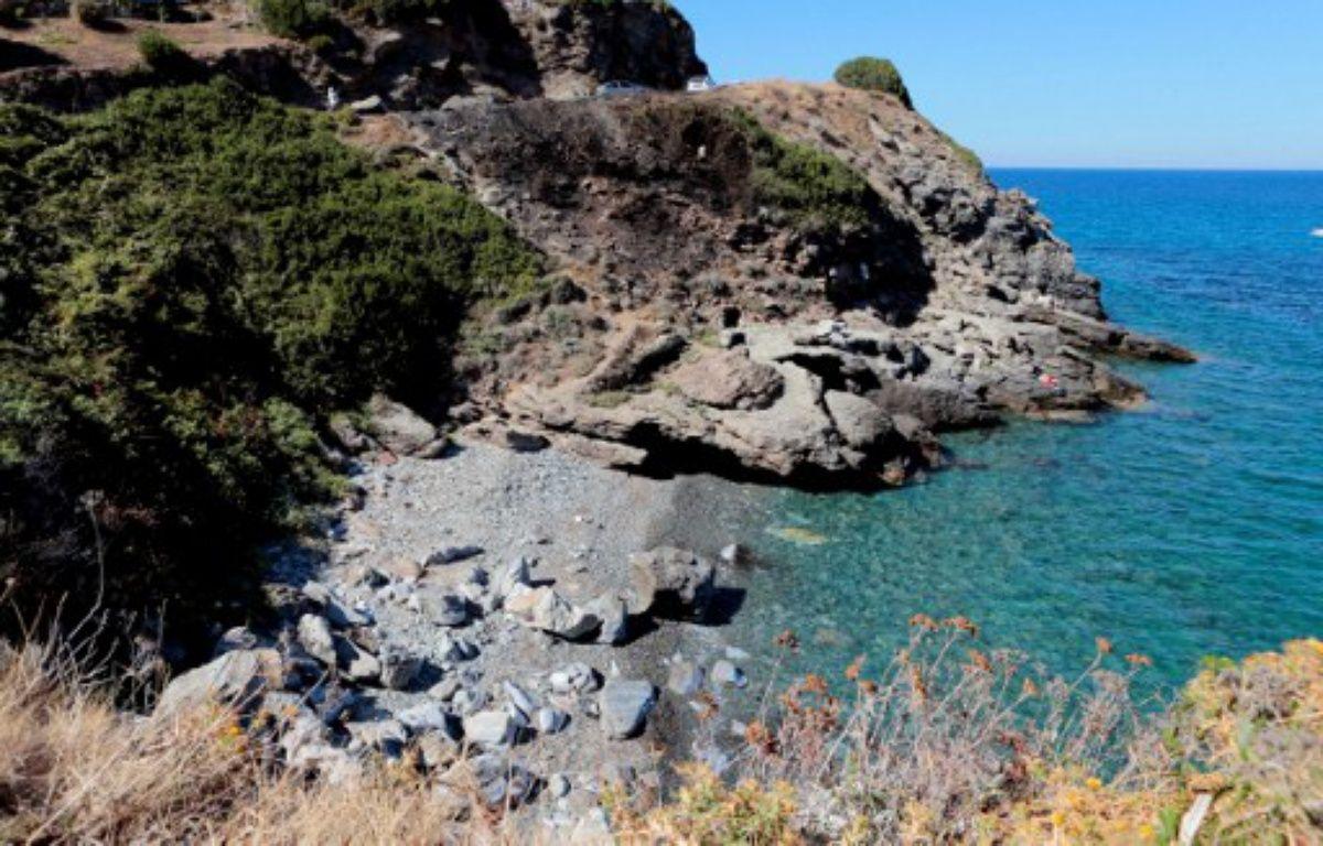 Sisco (Corse), le 14 août 2016. Une violente rixe a éclaté sur cette page entre des jeunes d'origine maghrébine et des Corses. – PASCAL POCHARD-CASABIANCA / AFP