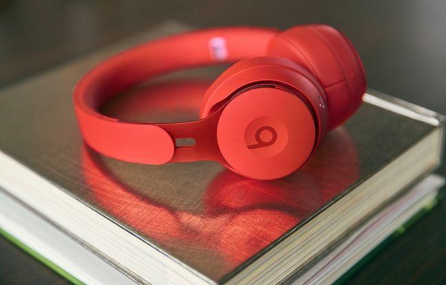 Le rouge emblématique de la marque Beats Audio.
