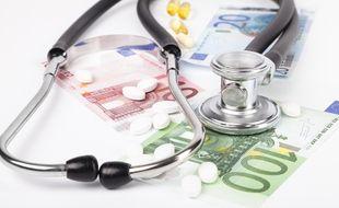 Illustration des frais de santé.
