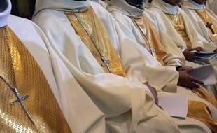 Des évêques rassemblés à Lourdes - Illustration.