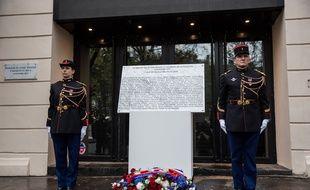 Commemoration devant le Bataclan, un an après les attentats du 13 novembre 2015. (Archives)