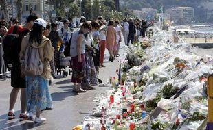 La Promenade des Anglais à Nice  après l'attaqu (AP Photo/Claude Paris)/CLP115/16201414748248/1607191419