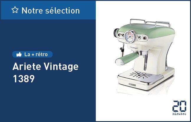 La machine expresso manuelle Ariete Vintage 1389.