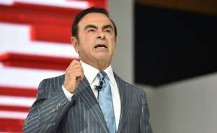 Le PDG de Renault-Nissan, Carlos Ghosn à Tokyo, le 28 octobre 2015