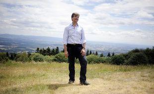 Arnaud Montebourg  Saint-Leger-Sous-Beuvray en 2011.
